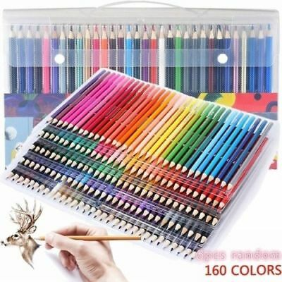 12x 160Color Drawing Color Pencil Professionals Artist Pencils for Write Drawing
