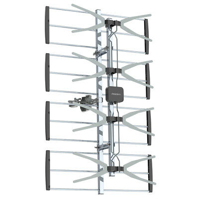 Double-head Black Wire Outdoor Antenna Without Stand 4 Grids 10 m 3C2V