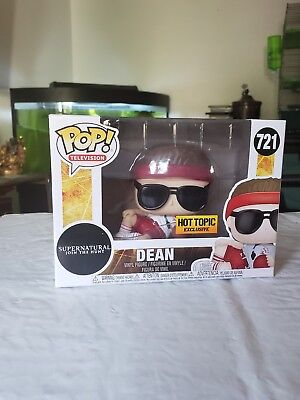 Coach Dean Funko Pop Supernatural Join The Hunt Hot Topic Exclusive New In Box