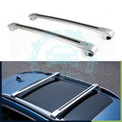 2pcs Fits For Nissan X Trail Rogue 2014 2018 Roof Rack