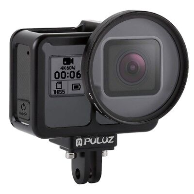 PULUZ Housing Shell CNC Aluminum Alloy Protective Cage for GoPro HERO7 Black/ 6