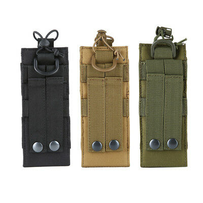 Outdoor Molle 600D Tactical Military Radio Walkie Talkie Holder Bag Pouch Pocket