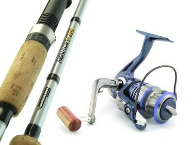 SAMBO MENACE 7' 8kg Carbon Fibre Spinning Fishing Rod and Reel Combo Bream Trout