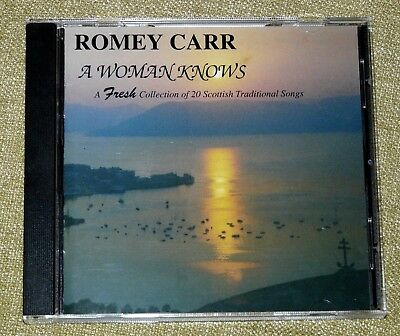Romey Carr - A Woman Knows : 20 Scottish Traditional Songs - 1995 Alba CD