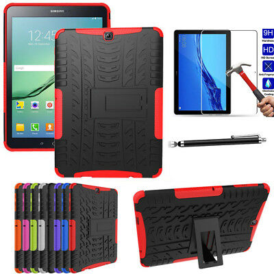 For Huawei MediaPad T5 10.1 Tablet Armor Hybrid Hard Shockproof Tough Case Cover