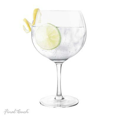 X LARGE GIN AND TONIC COCKTAIL BALLOON GLASS Vintage Wine G&T Gift 1x 800ml UK
