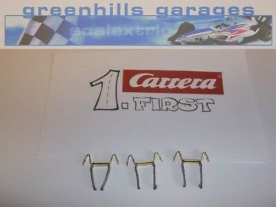 Greenhills Scalextric Carrera First double contact brushes / braids x 3 - NEW...