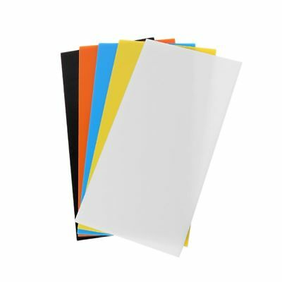 10X20cm Plexiglass Board Colored Acrylic Toy Accessories Sheet DIY Model Making