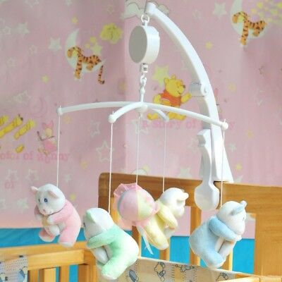 Baby Crib Mobile Bed Bell Toy Holder Arm Bracket+Wind-up Without Music Box Gifts
