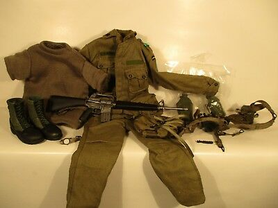 Sideshow Army Special Forces Colonel uniform weapons for John Wayne  1/6 12""