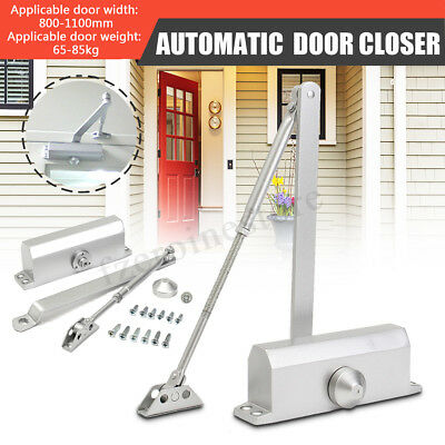 65-85KG Aluminum Commercial Door Closer Two Independent Valves Control Sweep