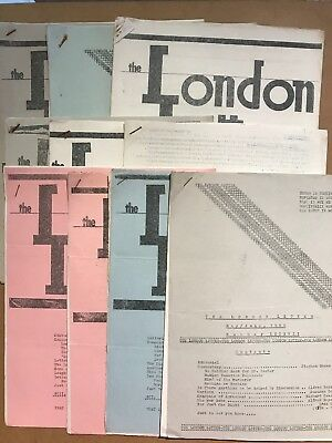 10 Copies Of Anarchist Journal THE LONDON LETTER 1965-1966