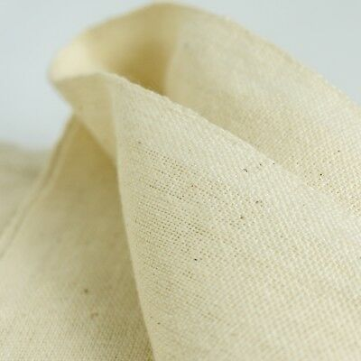 Quality Osnaburg Vintage Fabric 1 Yard 100% Cotton Natural/Hand Embroidery