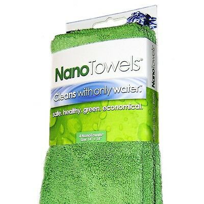 Nano Towel Cleaning Hand Kitchen Dish Fabric Technology Cleans Fiber Cloth 4Pack