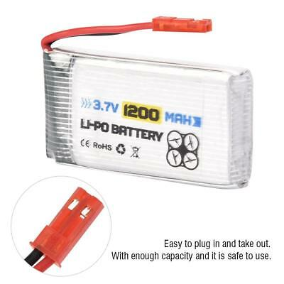 ENGPOW 3.7V 1200mAh Rechargeable LiPo Battery with JST Plug For RC Drone/Car