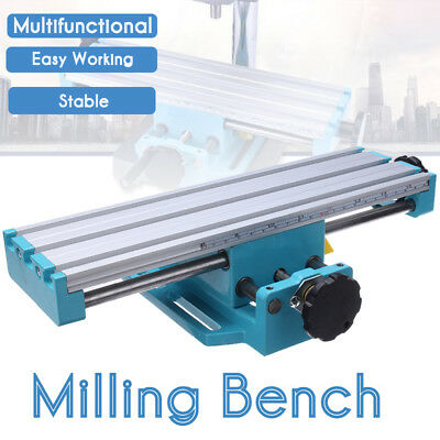 Multifunction Mini Milling Machine Bench Drill Vise Adjustment Worktable Table