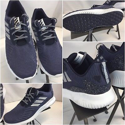 competitive price dfdfd 5a92c Adidas Alphabounce RC Sz 12.5 Men 2017 Blue Running Shoes Mint YGI L8S-255