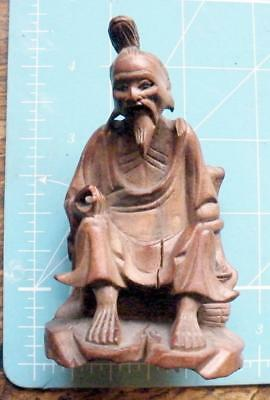 Attractive carved Chinese god or elder