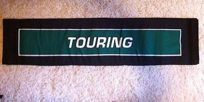"""Harley-Davidson NOS Touring Two sided Canvas Banner  11""""W x 48""""H"""