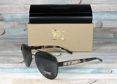 31efc88f905e BURBERRY WOMEN S BE3084-122887-60 Black Aviator Sunglasses -  110.59 ...