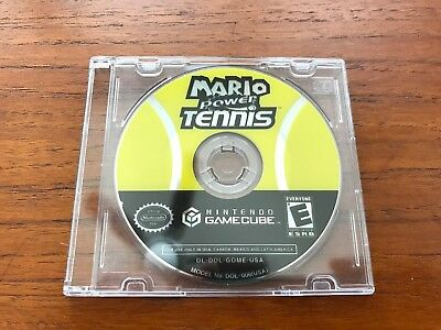 Mario Power Tennis Gamecube Disc only, Tested!