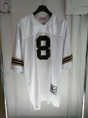 outlet store 5941b 026cb VINTAGE MITCHELL & Ness Nfl New Orleans Saints Archie Manning 1971 #8 Jersey