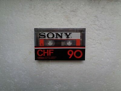 Vintage Audio Cassette SONY CHF 90 * Rare From France 1978 *