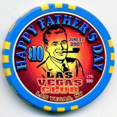 $10 Las Vegas Club Father's Day Casino chip