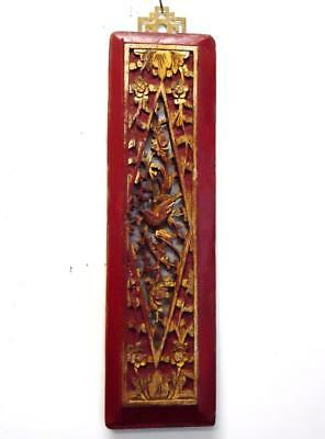 Antique Chinese Wood Panel   (#M104 )