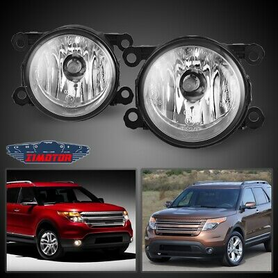 NEW FRONT LH /& RH FOG LAMP ASSEMBLY FITS 11-15 CHRYSLER TOWN /& COUNTRY CH2594105