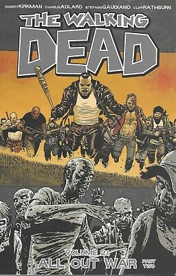 THE WALKING DEAD Volume 21 TPB issue 121-126 ALL OUT WAR Part 2 Image Comics TV