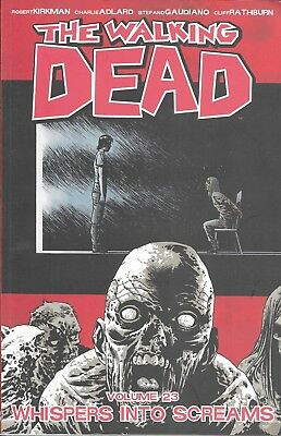 THE WALKING DEAD Volume 23 TPB issue 133-138 WHISPERS INTO SCREAMS Image Comics