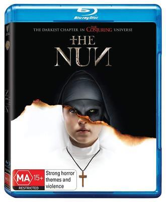 THE NUN (2018): Horror, Mystery, Thriller, The Conjuring - NEW Au RgB BLU-RAY