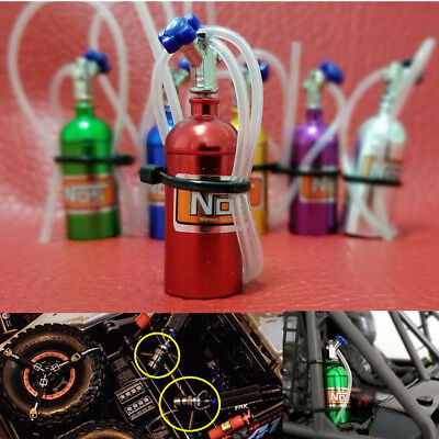 1:10 RC Nos Nitrous Oxide Bottle For Tamiya Axial SCX10 RC4WD D90 Xtra Speed Car