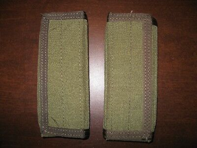 eagle industries 2 CIRAS shoulder pads khaki plate carrier vest strap SFLCS MLCS