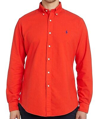 Ralph Lauren polo red shirt Large L or Medium M Size new ! slim fit