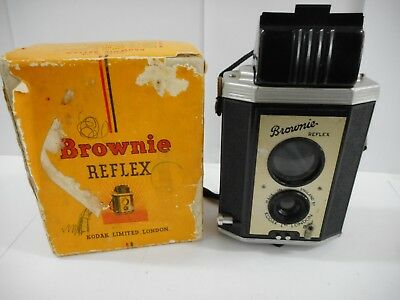 Vintage Brownie Reflex Camera Boxed