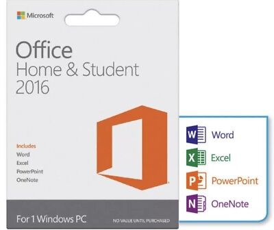 b2489f81271a5f MICROSOFT OFFICE HOME and Student 2013 - COA and DVD included - NEW ...
