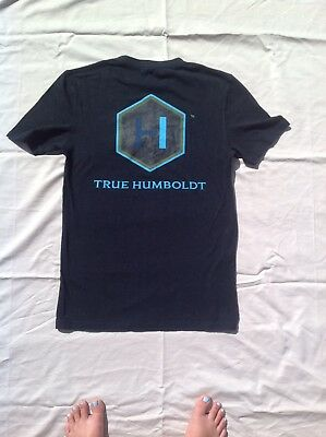 ONNO Mens True Humboldt T Shirt  NEW Size Small Organic Cotton NWT
