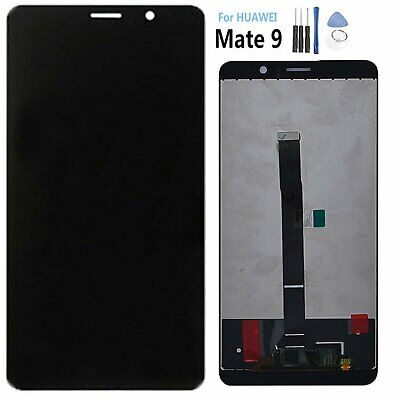 Black LCD Display Touch Screen Digitizer Assembly + Tools For Huawei Mate 9 @AU