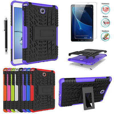 Rugged Impact Heavy Armor Case Cover For Samsung Galaxy Tab A 10.1 SM-T580 T585