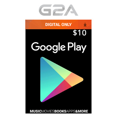 $10 USD Google PLAY Store USA Gift Card - 10 Dollar Google Play Android Code US