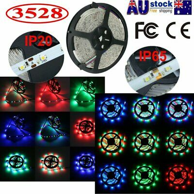 5M-50M 3528 SMD LED Strip lights White RGB 300 LEDs Car Home Decor IP65/IP20