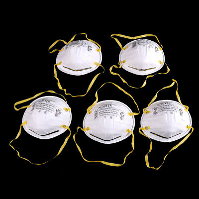 5PCS 8210 N95 Particulate Paint Face Safety Respirator Adult Dust Masks NT