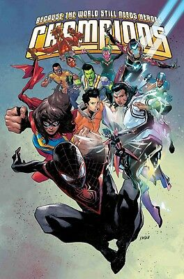 Champions #1 - Marvel - Release Date 02/01/19