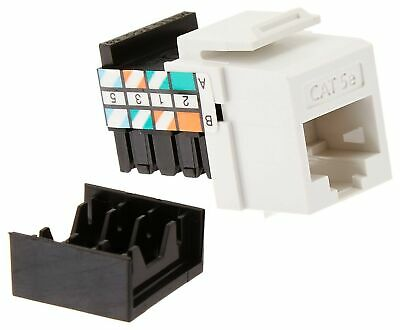 5G108-R05 GIGAMAX 5E QUICKPORT CONNECTOR CAT 5E LOT OF 6 LEVITON CAT NO