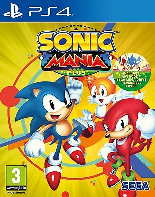 Sonic Mania Plus (PS4) BRAND NEW AND SEALED QUICK DESPATCH IN STOCK