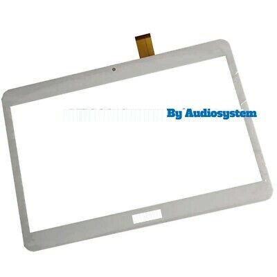 "Vetro+ Touch Screen Majestic Tab T161N Archos Access 101 3G 10.1"" Display Bianco"