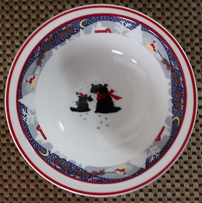 Noritake TWAS THE NIGHT BEFORE CHRISTMAS (#8100) Rimmed Cereal Bowl