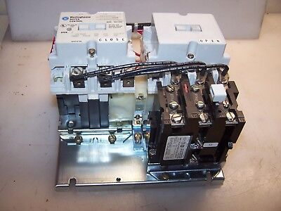 New Westinghouse Size 0 Reversing Motor Starter 5 Hp 120 Vac Coil A210M0Cac